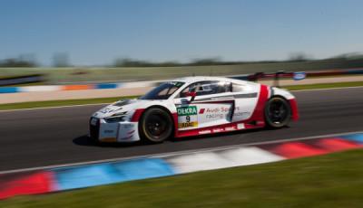 Motorsportfestival Lausitzring 2017 Audi sport academy Audi R8 LMS Nr. 9
