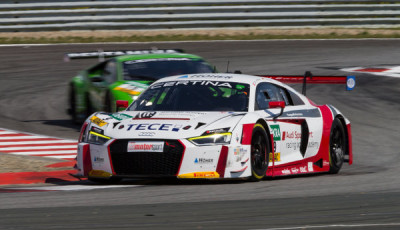 ADAC GT Masters Oschersleben 2017, Audi Sport racing academy Audi R8 LMS Nr9