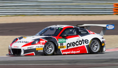 ADAC GT Masters Oschersleben 2017, Herberth Motorsport Porsche 911 GT3 R Nr99