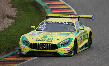 ADAC GT Masters Sachsenring HTP Motorsport Mercedes-AMG GT3 Nr. 48
