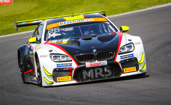 ADAC-GT-Masters-2018-Most-2.freies-Training-MRS-BMW-M6-GT3-Nr.14