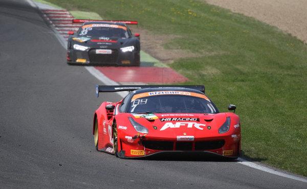ADAC-GT-Masters-2018-Most-Rennen-2-HB-Ferrari-ISR-Audi