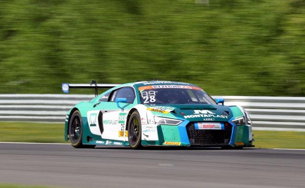 ADAC-GT-Masters-2018-Most-Rennen-2-Land-Motorsport-Audi-R8-LMS-Nr.28