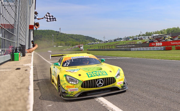 ADAC-GT-Masters-2018-Most-Rennen-2-MANN-FILTER-HTP-Motorsport-Mercedes-AMG-GT3-Nr.47