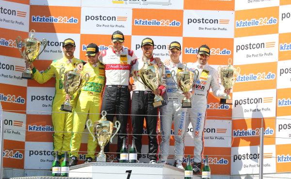 ADAC-GT-Masters-2018-Nuerburgring-Rennen-2-Podium