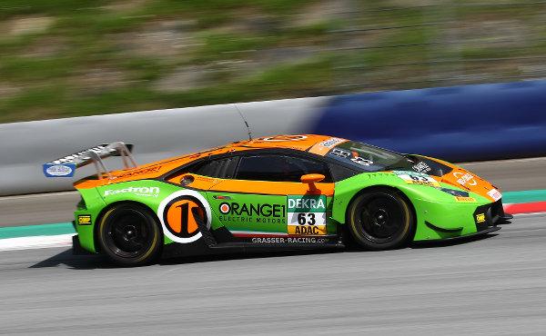 ADAC-GT-Masters-2018-Red-Bull-Ring-Grasser-Racing-Lamborghini-Huracan-GT3-Nr.63