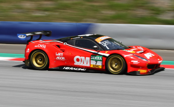 ADAC-GT-Masters-2018-Red-Bull-Ring-HB-Racing-Ferrari-488-GT3-Nr.7