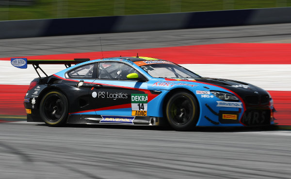 ADAC-GT-Masters-2018-Red-Bull-Ring-MRS-GT-Racing-BMW-M6-GT3-Nr.14