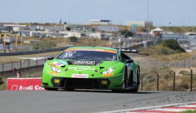 ADAC-GT-Masters-2018-Zandvoort-Rennen-1-Grasser-Racing-Lamborghini-Huracan-GT3-Nr.19
