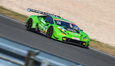 ADAC-GT-Masters-2018-erstes-freies-Training-Grasser-Racing-Lamborghini-Huracan-GT3-Nr.19