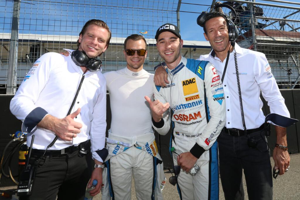 ADAC-GT-Masters-2019-Hockenheim-Plenz-Niederhauser-van-der-Linde-Reuter