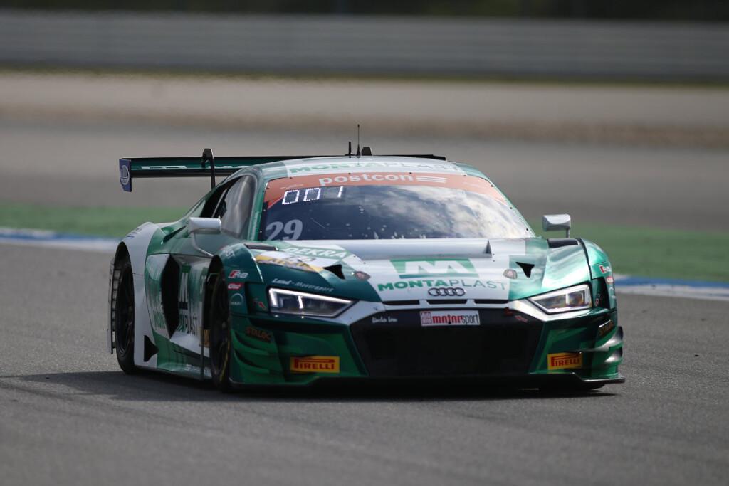 ADAC-GT-Masters-2019-Hockenheim-freies-Training-1-Land-Motorsport-Audi-R8-LMS-Nr.29