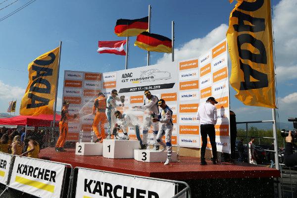ADAC-GT-Masters-2019-Most-Rennen-1-Podium