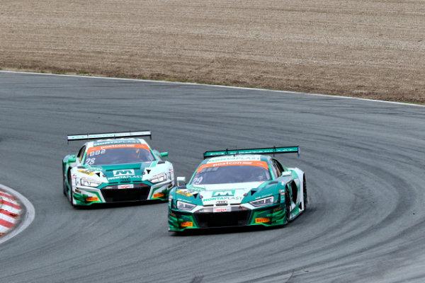 ADAC-GT-Masters-2019-Zandvoort-Rennen-2-Doppelsieg-Land-Motorsport-Audi-R8-LMS