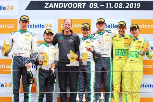 ADAC-GT-Masters-2019-Zandvoort-Rennen-2-Podium