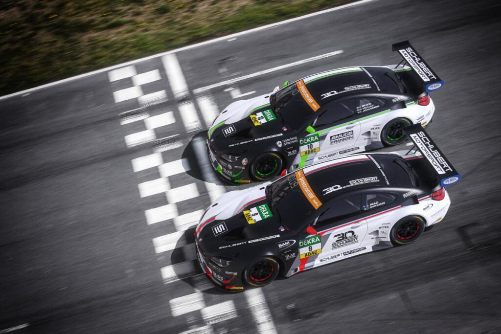 ADAC-GT-Masters-2020-Preview-Schubert-Motorsport-BMW-M6-GT3-von-oben