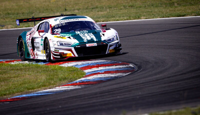 ADAC-GT-Masters-2020-Test-Lausitzring-Land-Motorsport-Audi-R8-LMS-Nr.29