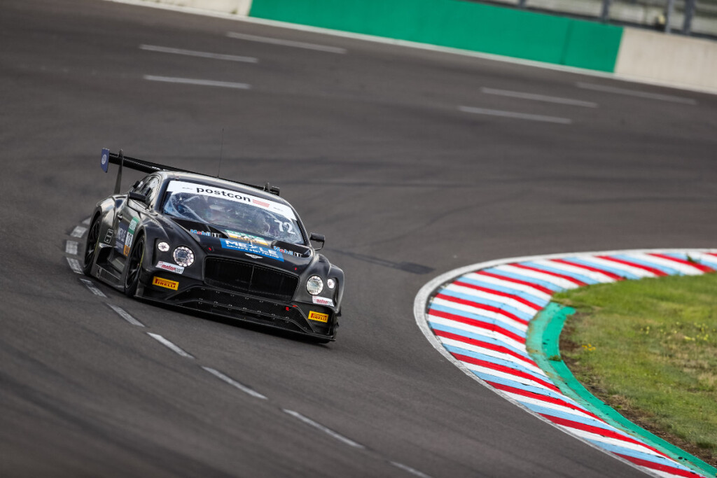 ADAC-GT-Masters-2020-Test-Lausitzring-T3-Bentley-Continental-GT3-Nr.72