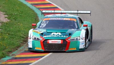 ADAC-GT-Masters-Sachsenring-1-freies-Training-Land-Motorsport-Audi-R8-LMS-Nr.29