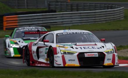 ADAC GT Masters, Oschersleben Test Aud R8 LMS 2017