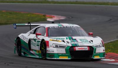 ADAC GT Masters Test Oschersleben, Land Motorsport Audi R8 LMS #1