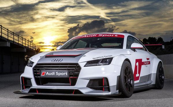 Imsa Live Stream >> Audi Sport TT Cup 2015 bei sechs DTM Läufen mit dabei