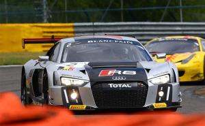 Audi Sport Team WRT_Stippler_Pole_Spa 2015