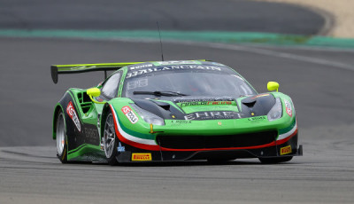 #333 RINALDI RACING (DEU) FERRARI 458 ITALIA GT3 NORBERT SIEDLER (AUT) MARCO SEEFRIED (DEU)