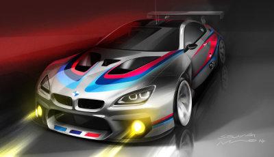 BMW-M6-GT3-frontskizze