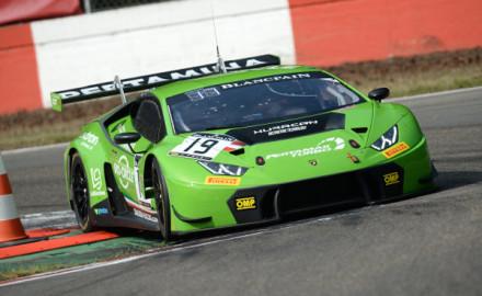 Blancpain-Sprint-2017-Zolder-Grasser-Racing-Lamborghini-Huracan-GT3-Nr.19-Norbert-Siedler