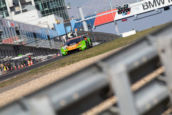 Blancpain-Sprint-2018-Nuerburgring-Qualifying-1-Grasser-Racing-Lamborghini-Nr.63-klein