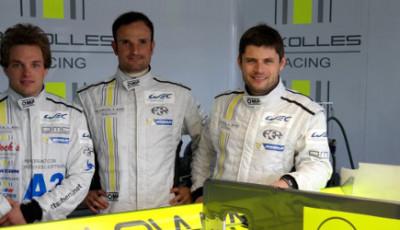 Simon Trummer, Vitantonio Liuzzi und Pierre Kaffer, ByKolles Racing
