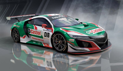 Castrol Honda Racing enters Spa 24 Hours with NSX GT3