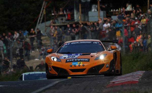 24h nürburgring 2014: sascha bert ist stolz auf den mclaren