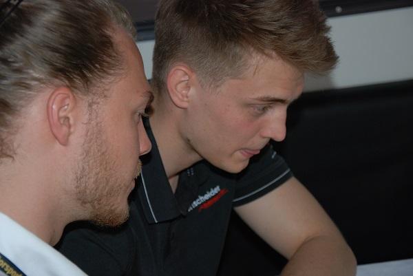 Anhand der Daten können die Runden miteinander verglichen werden (Foto: Jennifer Falkner / Jensationel Motorsport Media)