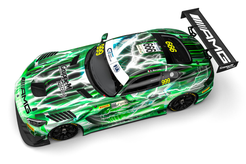 FIA-GT-World-Cup-2019-Preview-GruppeM-Mercedes-AMG-GT3-Nr.999