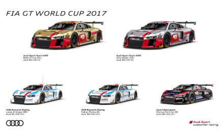 FIA-GT-World-Cup-Macau-2017-Audi-Teams