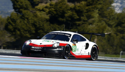 FIA-WEC-2018-19-Preview-Test-Le-Castellet-Porsche-911-RSR