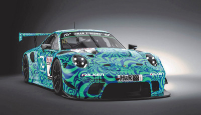 Falken Motorsports_Porsche 911 GT3 R 2019_Frontansicht_cut