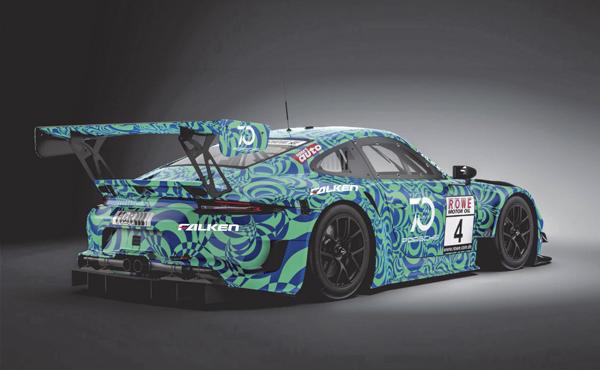 Falken Motorsports_Porsche 911 GT3 R 2019_Heckansicht_cut