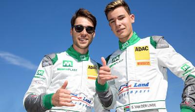 GTM 2018 No.28_Land Motorsport_Kelvin und Sheldon van der Linde