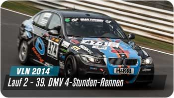 VLN 2014 - 2. Lauf - 39. DMV 4h Rennen