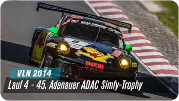 VLN 2014 - Bilder der 45. Adenauer ADAC Simfy Trophy