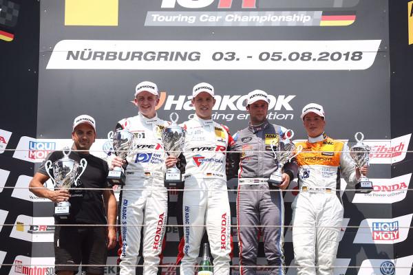 Honda Doppelsieg am Nürburgring (Foto: Burkhard Kassen / Racevision)