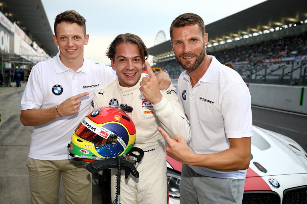 © BMW | Suzuka (JPN), 24. August 2019. BMW M Motorsport, 10h Suzuka, Pole Setter Augusto Farfus (BRA), Nick Yelloly (GBR), Martin Tomczyk (GER), BMW M6 GT3 #42, BMW Team Schnitzer.