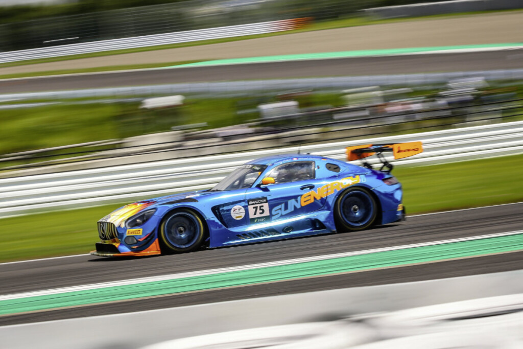 Mercedes-AMG GT3 #75, SunEnergy1 Racing