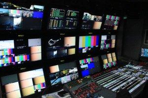 Übertragungs-LKW von wige Media beim GT Masters