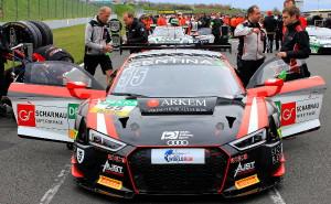 Aust Motorsport, Audi R8 LMS, #55, ADAC GT Masters 2016