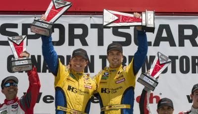 IMSA 2016 Mosport Jens Klingmann & Bret Curtis