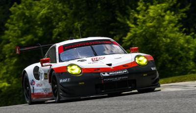 IMSA-2017-Lime-Rock-Qualifying-Porsche-911-RSR-Nr-912-Vanthoor-Bruni